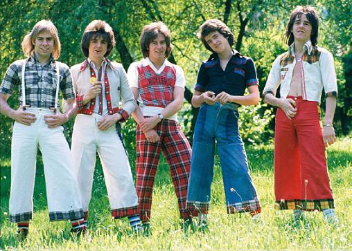 The Bay City Rollers rode the slacksjacking wave of the 70s.